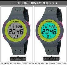 Спортивные часы для Для мужчин Для женщин двойной Дисплей сигнализации Цифровые наручные часы световой 50 м Водонепроницаемый Одежда заплыва Run открытый Hike 320