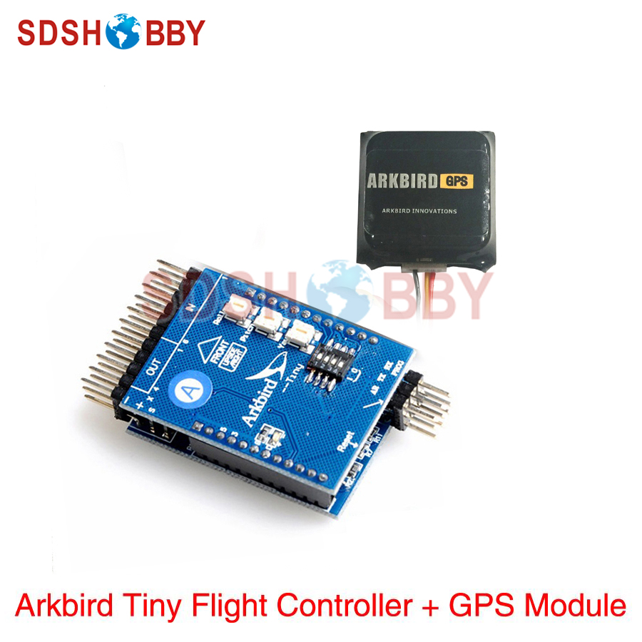 Arkbird Tiny Autopilot System RTH Balancer Flight Controller Stabilization With GPS Module For FPV RC Airplanes
