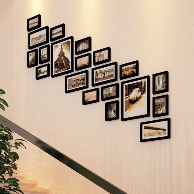 Bilderrahmen 20 Teile/los Bilderrahmen Für Bild Treppen Dekoration Farbige  Bilderrahmen Hochwertige Fotorahmen Wand