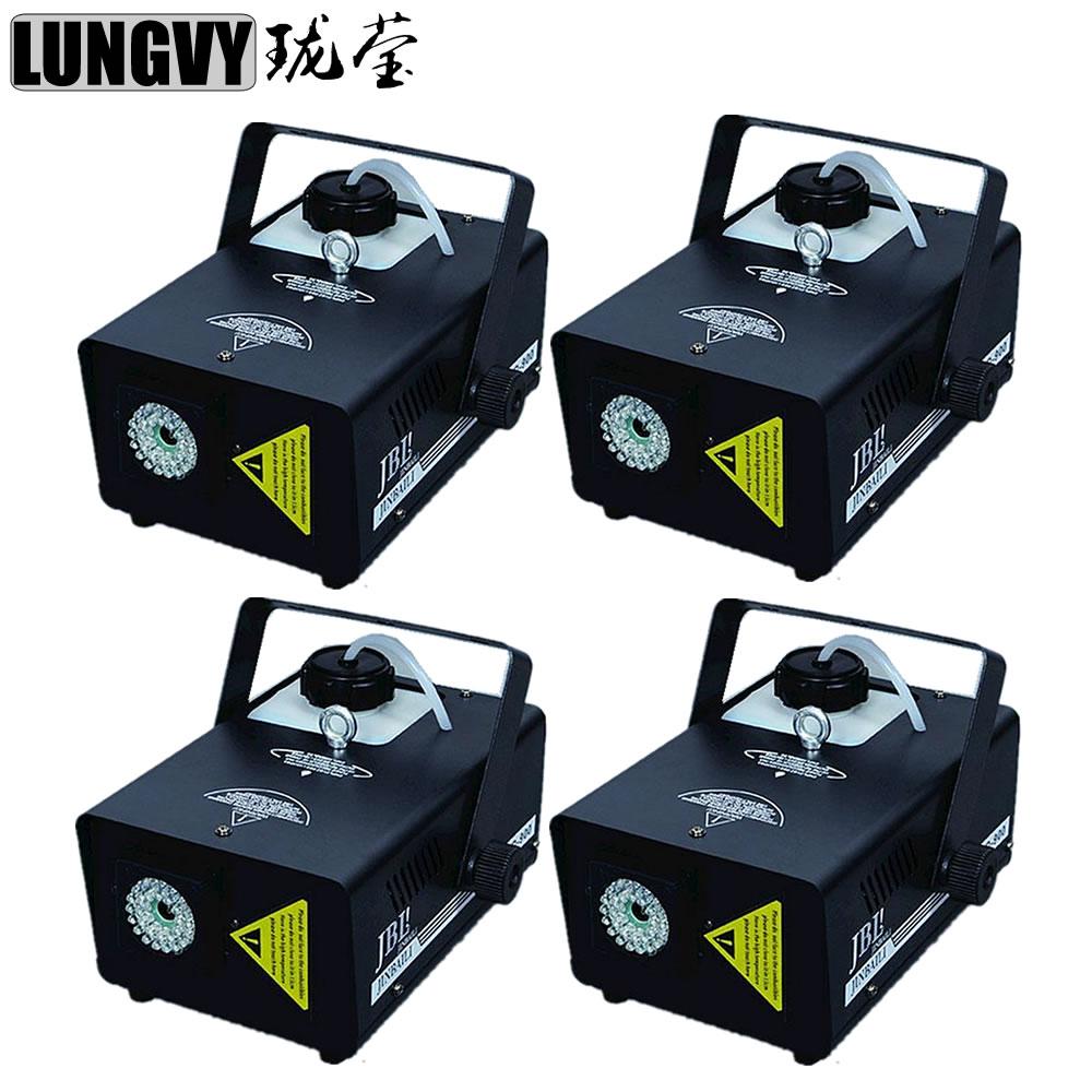 Free Shipping 4pcs/Lot 900W 1.5L Led Fogger Smoke Machine LED Lighting For Stage Party Light