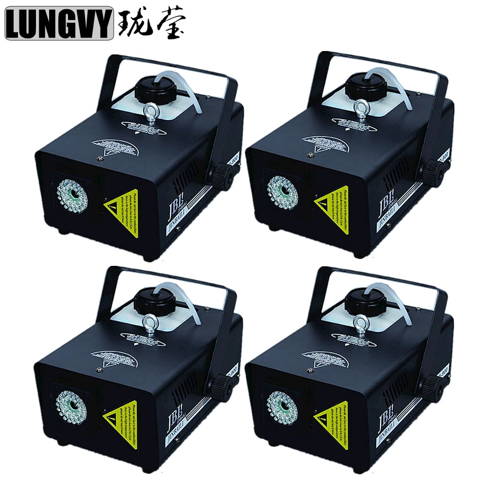Free Shipping 4pcs/Lot 900W 1.5L Led Fogger Smoke Machine LED Lighting For Stage Party Light
