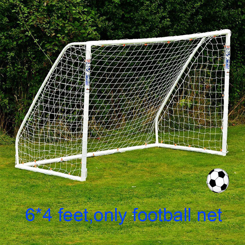 Aolikes 1.8X1.2M 6 x 4 FT Football Net Soccer Football Training Net 1.8M*1.2M Soccer Football Polypropylene Fiber Net ...