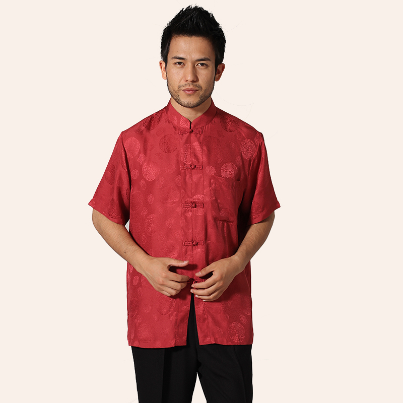 Compare Prices On Silk Red Shirt Online Shopping Buy Low