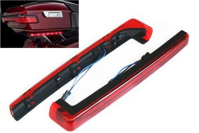 Tour Pak Pack Accent Side Marker Panel LED Light For Harley Davidson Touring  FLT FLHT FLHTCU 14-16 Red