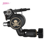Professional Rotary Tattoo Machine SKull Quietly Motor Makeup Guns Supplies for Liner Shader Tattoo Artist Cord Cartridge Grip