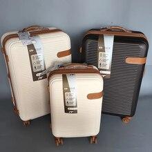 Британский багаж на ролликах 19/25/29 дюймов бренд чемодан на колесиках чемодан, устойчивое к царапинам дорожная сумка износостойкий чемодан