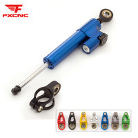 FXCNC Universal Aluminum CNC Motorcycle Steering Dampers Stabilizer For Honda CBR600RR CBR 600RR 2005 2006
