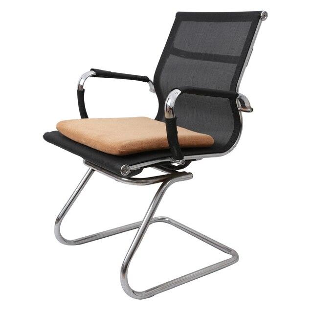 40*40 Steißbein Orthopädische Sitzkissen Küche Stühle Lordosenstütze  Comfort Memory Foam Kissen Home Decor Luxury