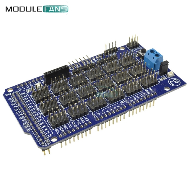 For Arduino Mega Sensor Module Shield V2.0 V2 For Arduino Module ATMEGA 2560 R3 1280 ATmega8U2 ATMEL AVR