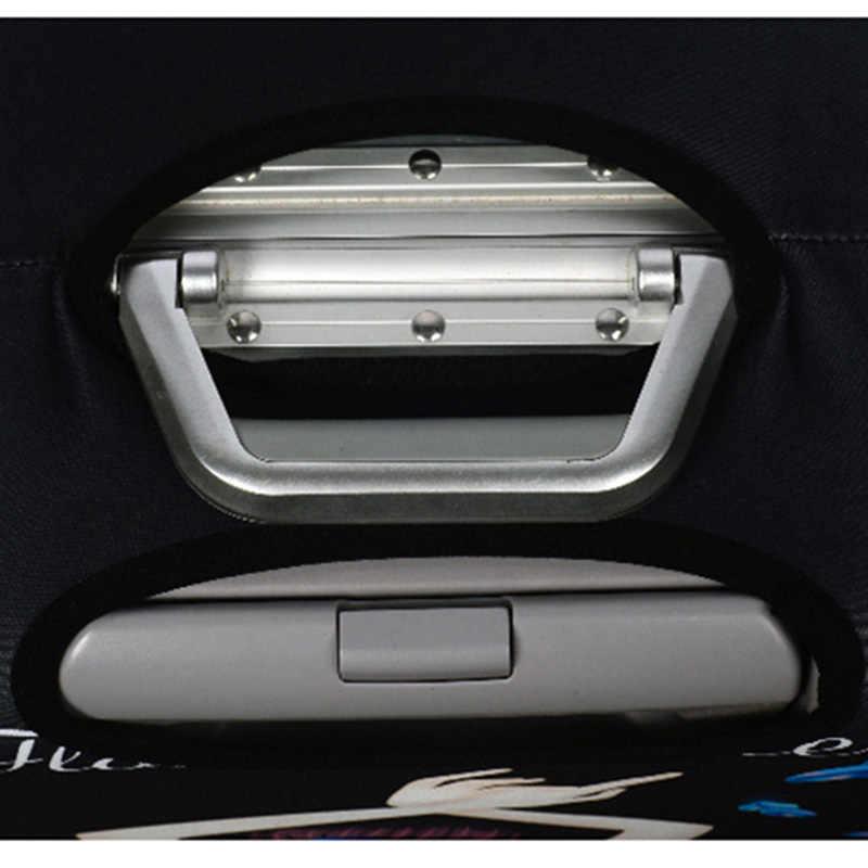 新厚み荷物カバー弾性荷物保護カバー 18-32 インチダストカバー旅行アクセサリー