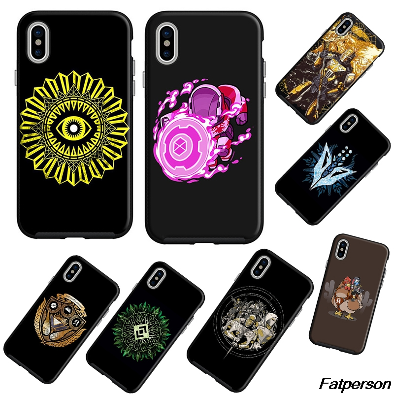 US $2.79  Destiny 2 For Samsung s8 s9plus S6 S7 Edge Black Soft Silicone Cover Case Shell For Apple iPhone X10 5s 6 6s 7 8plus Coque cases Fitted ...