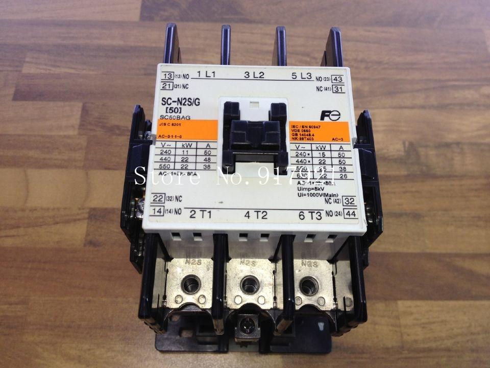 [ZOB] Japan Fuji Fe SC-N2S/G DC12V 80A to ensure genuine original DC contactor