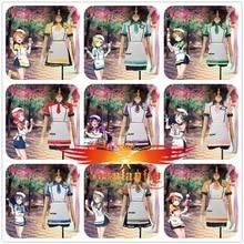 Love Live!Tojo Nozomi Hoshizora Rin Ayase Eli Umi  Maki Minami Kotori Niko Honoka Hanayo Unawakened Ice Cream Cosplay Costume