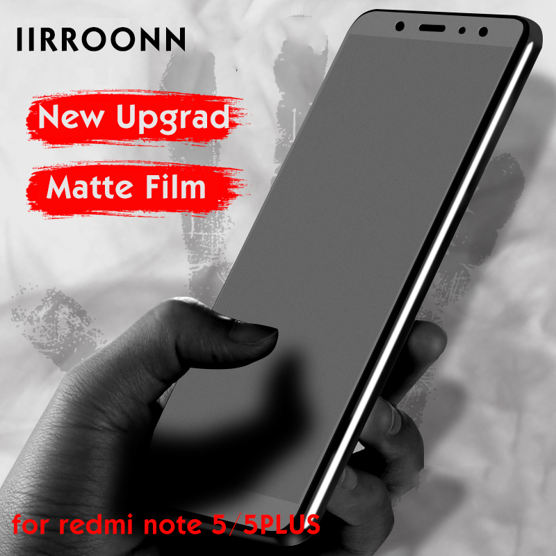 Matte Screen Protector For Xiaomi Redmi Note 5 5plus Matte Tempered Glass For Redmi 6 Pro Note5 Frosted Protective Film