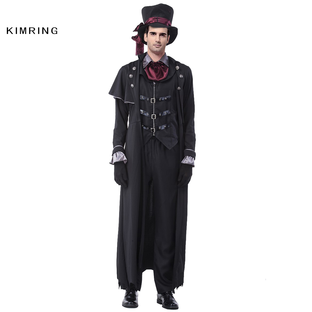 buy kimring deluxe men gothic vampire costume