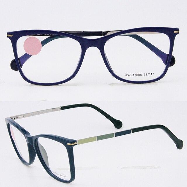 b4b49a3634 Diseño Simple Ultra-Ligero Semi-Transparente Marco Óptico Anteojos Recetados  Gafas Para Las Mujeres
