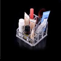 Transparent Crystal Lip Gloss Lipstick Receive Cosmetics Storage