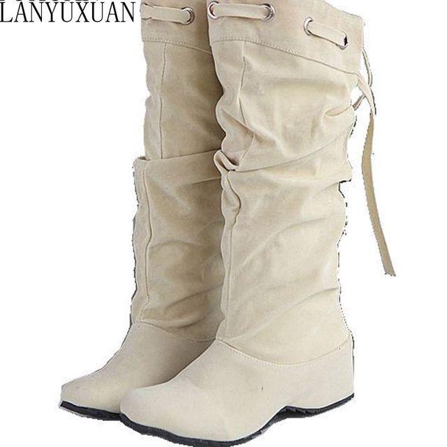 Осенний стиль женские облегающие высокие женские femininas сапоги до колена Botas masculina Zapatos botines Mujer Chaussure Femme обувь A-1
