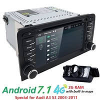 For Touch Screen Android 4 Core Car Radio Gps With BT Ipod List Gps Canbus 4G