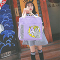 Fashion Japan Anime Card Captor Sakura Lolita Schoolbag Canvas Shoulder Bag Girls Harajuku Preppy Multifunctional School Bags