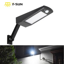 ФОТО t-sunrise solar light motion sensor led street light 48 leds outdoor solar powered lighting waterproof for street road