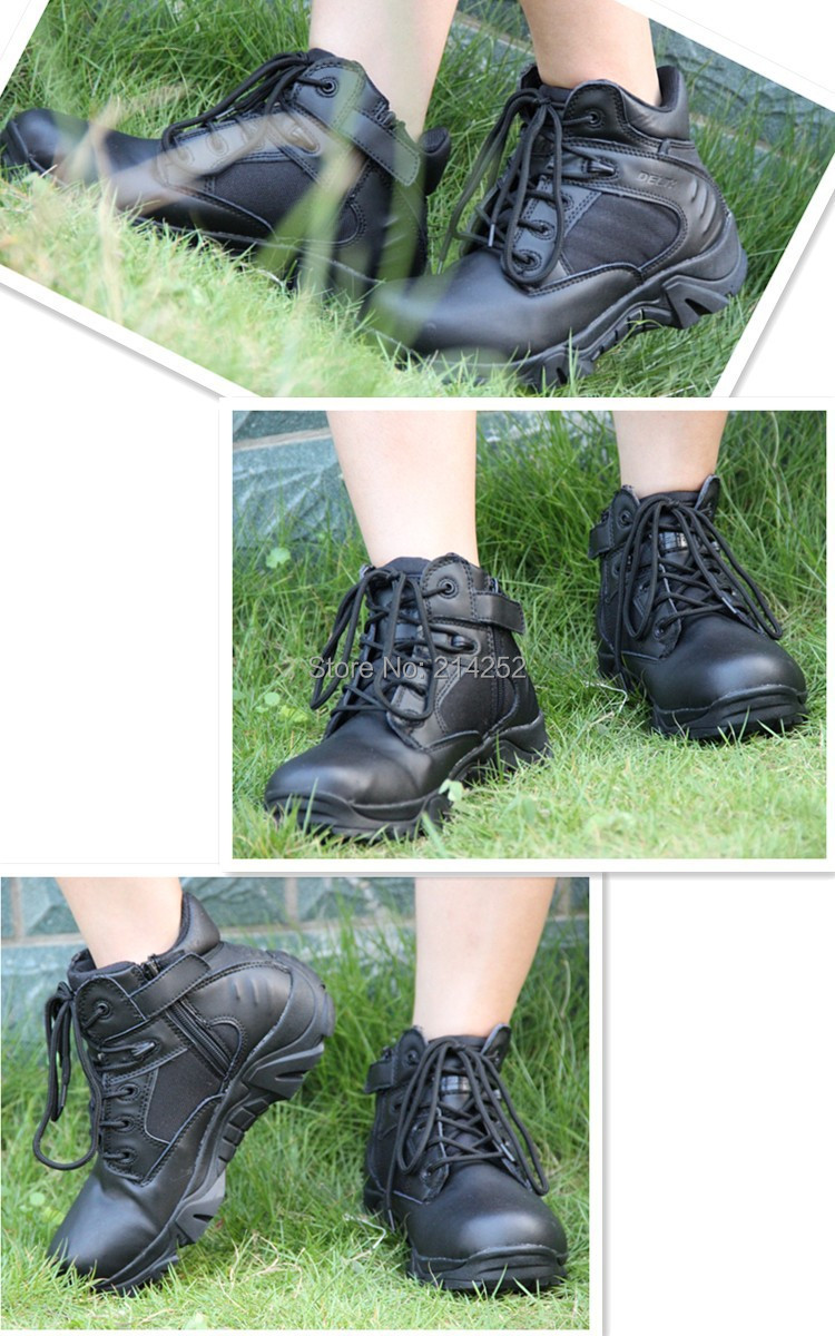 Delta Combat Desert Boot Swat Army Tactical Boots Outdoor Military Sepatu 6in Tan Special Lightweight G66 Black Or Free Shipping