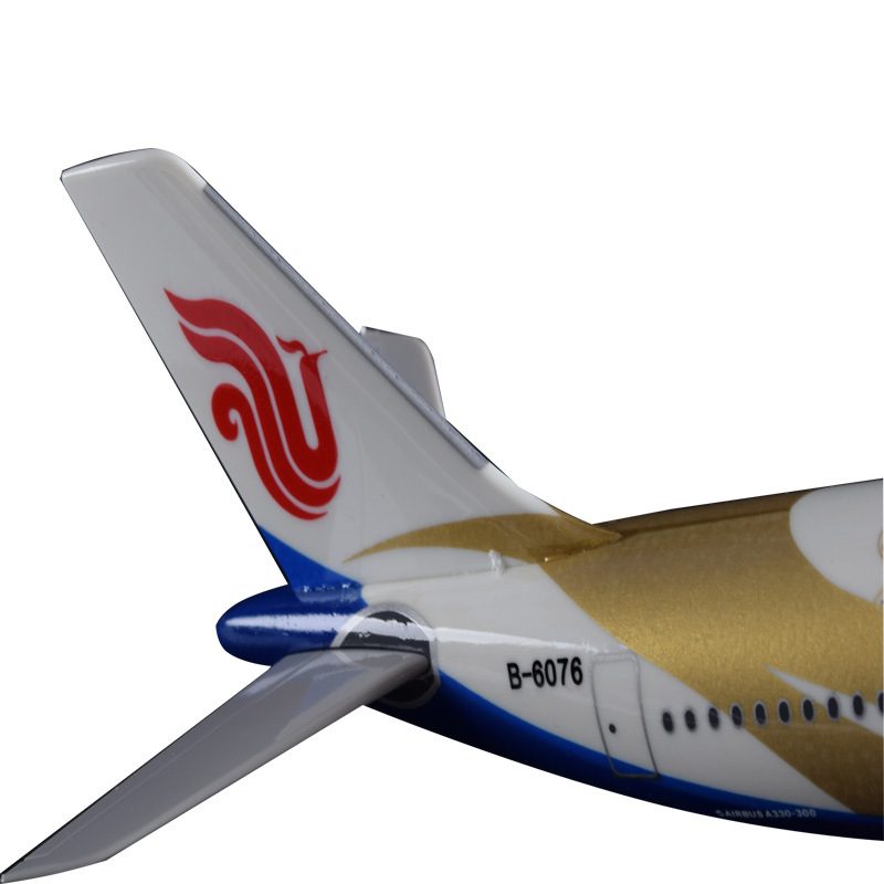 32cm A330 Zichen Airbus Model Air China Airlines Goldchen Decoration Crafts Airplane Model Resin Aircraft Airways Model