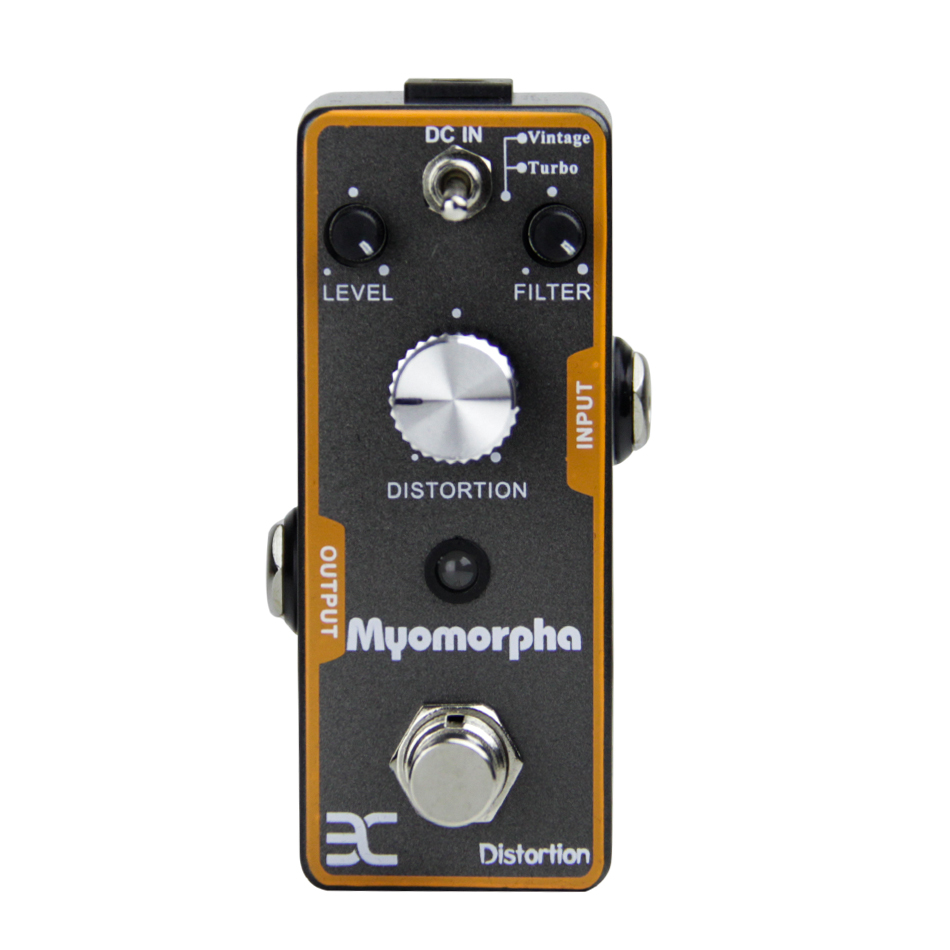 NEW ENO EX Myomor TC-13 Guitar Effect Pedal/Classic Distortion Sound Sturdy Metal Construction True Bypass/Guitar Accessories