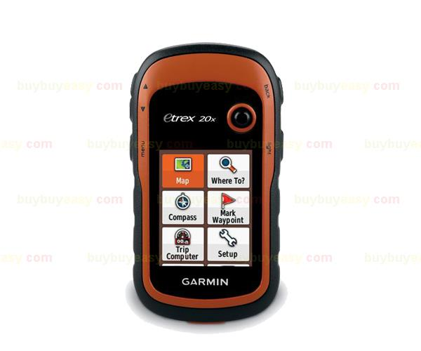 NEW GARMIN eTrex 20x 010-01508-00 Handheld GPS Navigator Mountable