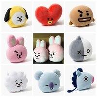 Niedlichen Cartoon Gestopft Kissen Kpop Verkauf BTS Bangtan Boys Puppe kaninchen Kissen Stoffpuppen JUNGKOOK JIMIN JIN V SUGA JHOPE CZL8311