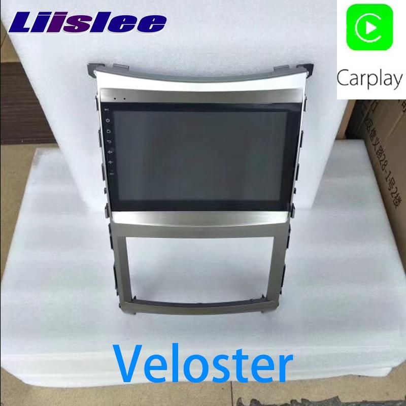 LiisLee Car Multimedia GPS Hi-Fi Audio Radio Stereo For Hyundai Veloster FS 2011~2018 Original Style Navigation NAVI цена