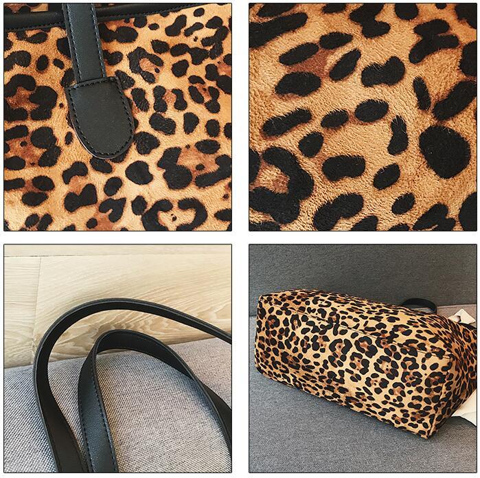 Feminina Delle Progettista Leopardo Bolsa Di Dimensioni A Signore Donne Brown Tote Aimiyoung Del Mujer Bolsos Spalla Borse Grandi Modo xZ7wqnEER6