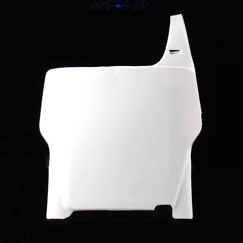 Plastic fairing Front Number Plates Name Plate white fit Honda CR125R CR250R CRF250R CRF450R 04-07 Off road Racing Motocross front plastic number plate fender cover fairing for honda crf100 crf80 crf70 xr100 xr80 xr70 style dirt pit bike