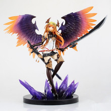 29cm Kotobukiya Rage Of Bahamut Dark Angel Olivia white Edition 1/8 Ani Statue Sexy PVC Figure Action Anime Toys K287