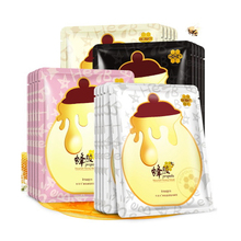 images Nourish Honey Facial Mask Moisturizing Face Oil Control Ance Treatment Hydrating Wrapped Skin Care