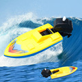 2016 Summer Outdoor Pool Ship Toy Wind Up Swimming Motorboat Boat Toy kids Children Birthday Christmas Gift