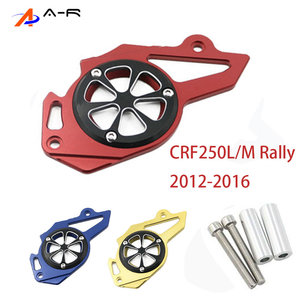 Chain Sprocket Cover Frame Guard Engine Protector for Honda <font><b>CRF</b></font> 250L 250M Rally <font><b>2012</b></font> 2013 2014 2015 2016 2017 CRF250M CRF250L image