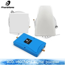 цена на Repeater 2/3/4G Amplifier Cell Phone Signal Booster GD 900 4G lte/dcs 1800 mhz UMTS Dual Band LTE 70dB Cellular Signal Amplifier