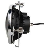 7 Daymaker LED Headlight Mount Bracket Ring Stainless Steel Headlamp Light Holder Support For Jeep Wrangler