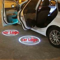 LED Car Door Welcome Light For Citroen C4L C2 C8 C5 C4 C3 Grand Picasso Laser