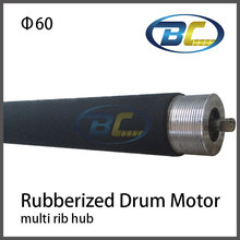 Conveyor Powered Roller with Multi Rib Hub,O Ring Hub, Timin