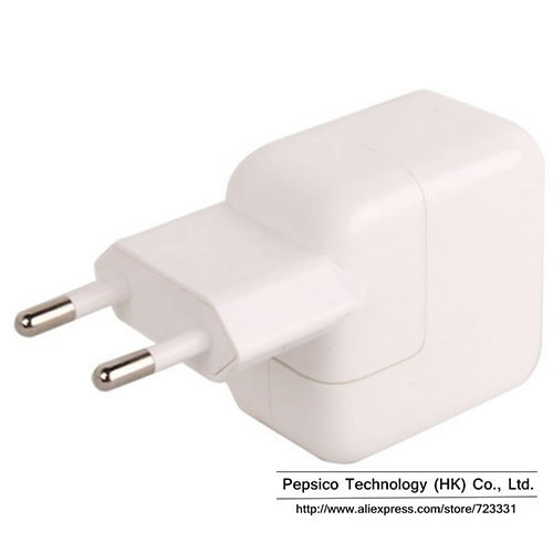 5V 2.1A USB Power EU Wall plug Adapter Travel Charger for iPad 2 & iPad iPhone 5/5C 5S 4/4S 3GS iPod Touch Direct Shipping