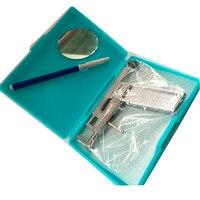 Chuyên nghiệp New Hot Bán 1 bộ Thép Không Gỉ Mũi Ear Navel Body Piercing Gun Piercing cụ Tool Kit