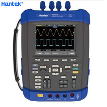 Hantek DSO8202E Oscilloscope 1GSa/s Sample Rate Large 5.6 inch TFT Color LCD Display Six in one IP-51 Rated High Quality(China)