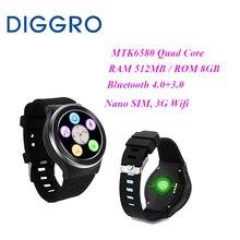 Diggro smart watch s99 sms/lembrete de chamada android 5.1 suporte do telefone do cartão sim 3g wifi bluetooth para telefone android saúde rastreador(China (Mainland))