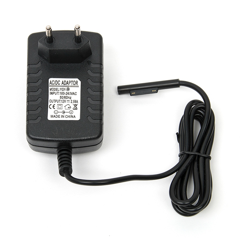 12V 2.58A 30W EU Plug Power Charger Adapter För Microsoft Surface Pro 3 Laddare Tablet AC Väggladdare Adapter För Tablet SP3