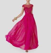 free shipping vestido de festa longo robe soiree 2014 new fashion bow belt party floor length gown long Formal evening dress