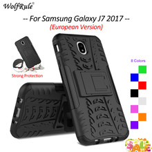 цена на For Cover Samsung Galaxy J7 2017 Case TPU & PC Armor Phone Case For Samsung Galaxy J7 2017 Cover For Samsung J7 2017 J730 5.5''
