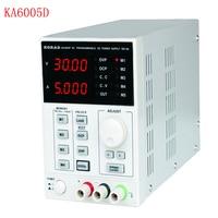 KA6005D Precision Variable Adjustable 60V, 5A DC Linear Power Supply Digital Regulated Lab Grade