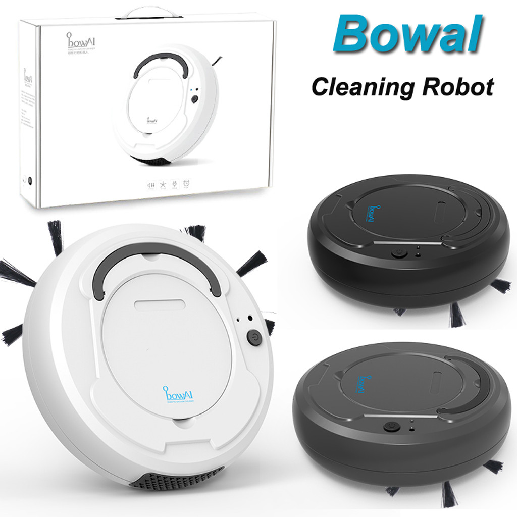 HIPERDEAL 1800PA 3in1 Smart Sweeping Robot Sweep Suction Drag Machine Wet and Dry Vacuum 18Dec21